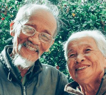 Caregiving couple